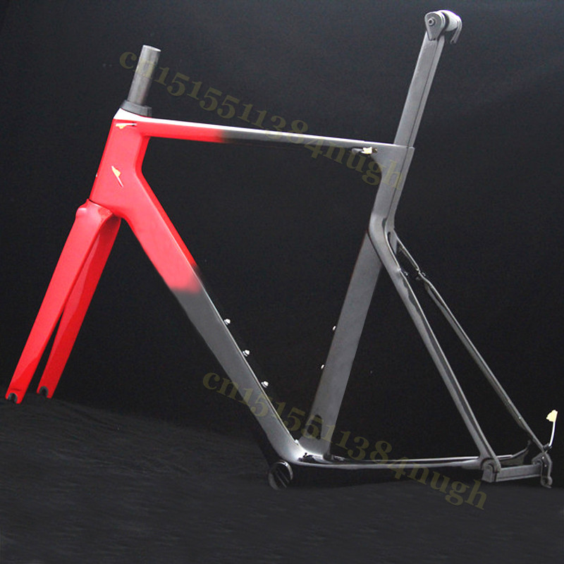 SL CF Disk Cyclocross Frameset Bicycle Disc-Brakes Road-Bike Carbon UD Di2 Mechanical Fork Frame Carbon Cycling Frame Aero Bike