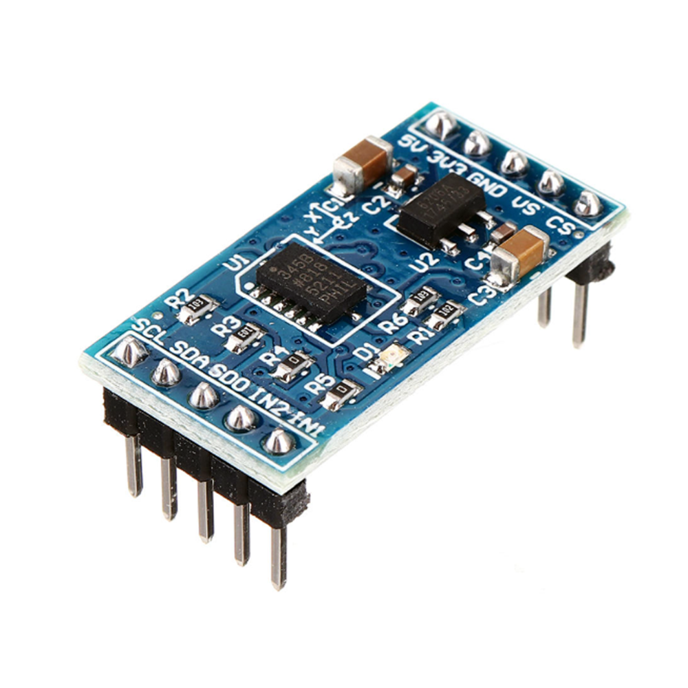 Taidacent 3-axis Accelerometer With 13-bit High Resolution ADXL345 Digital Tilt Motion Sensor Digital Acceleration Sensor