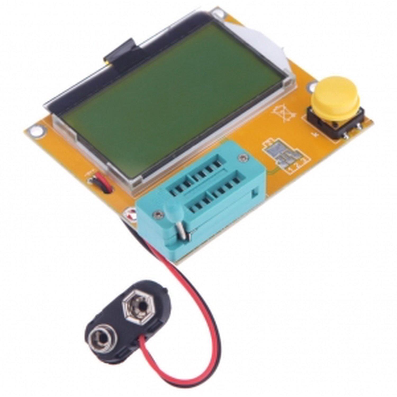 LCR-T4 Transistor Tester Capacitor ESR Inductance Resistor LCR Poke NPN PNP MOS 5pcs 2n3055 15a 60v npn af amp audio power transistor