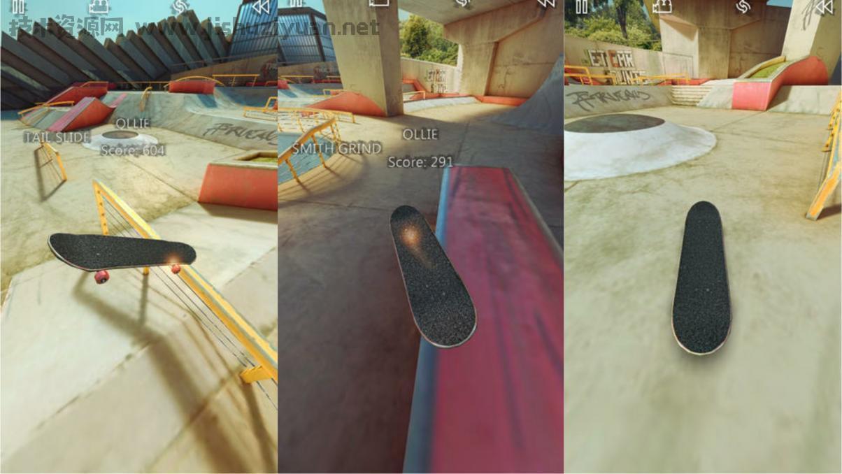 安卓模拟真实滑板游戏修改版
