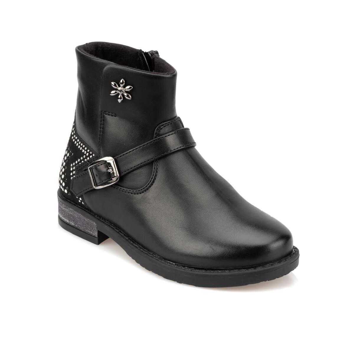 FLO 92.511817.P Black Female Child Boots Polaris