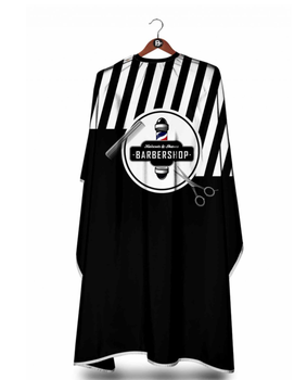 Hair Salon Barber Haircut Clothes, Fashion Hair Cutting Stylish Gown Cape, Hairdresser Cape, Hairdressing Clothes unisex adult black blue hairdressing cape hair cutting cape gown haircut clothes with play phone view window salon apron