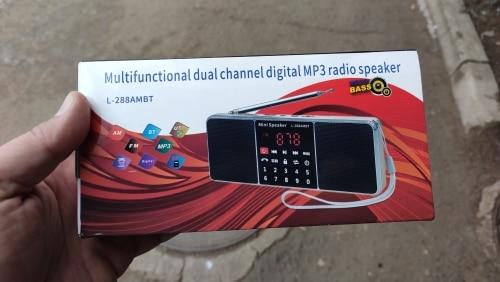 -- Bluetooth Portátil Receptor
