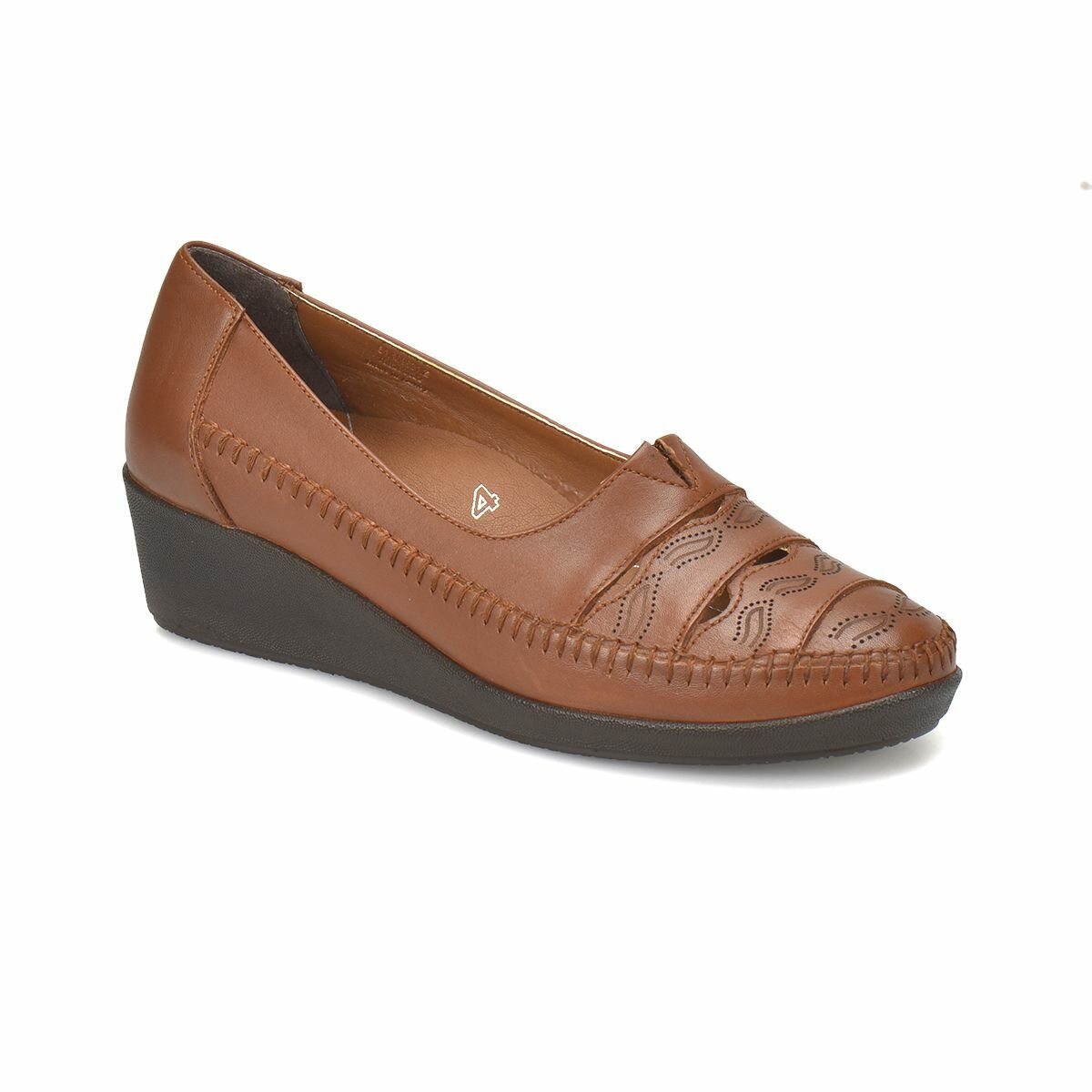 FLO 81.109631.Z Tan Women 'S Wedges Shoes Polaris 5 Point