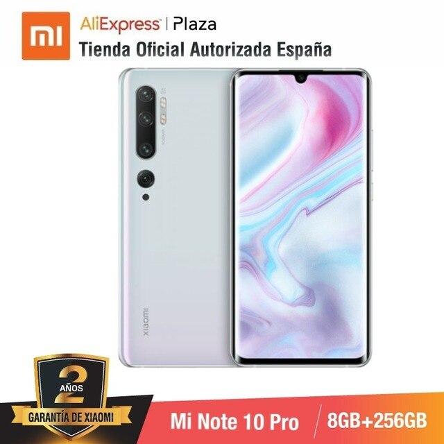 Mi Note 10 PRO (256GB ROM con 8GB RAM, Cámara 108 MP , Android, Nuevo, Móvil) 2
