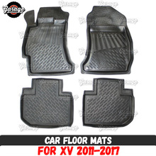 Case Accessories Car-Floor-Mats Rubber Subaru Xv Carpet-Decoration for 1set/4pcs 2pcs