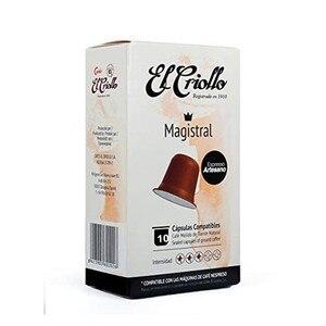 Café Magistral El Criollo, 10 compatible nespresso capsules
