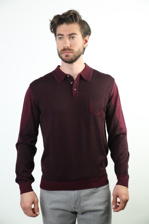 Sweater Polo Collar Male Sweater SW-1334