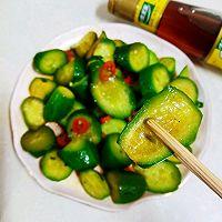 #太太樂鮮雞汁芝麻香油#涼拌黃瓜的做法圖解4