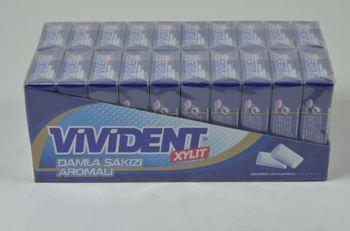 Vivident Xylit Gum mastyks aromatyzujący portfel guma (18 sztuk) tanie i dobre opinie Kobiet 12 + y DE (pochodzenie)