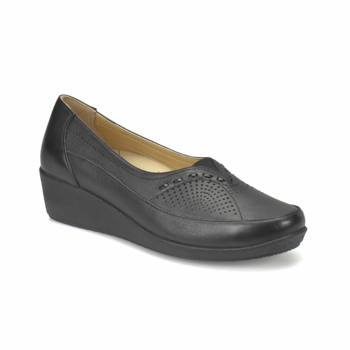 FLO 81. 111125.Z Black Women Shoes Polaris 5 Point