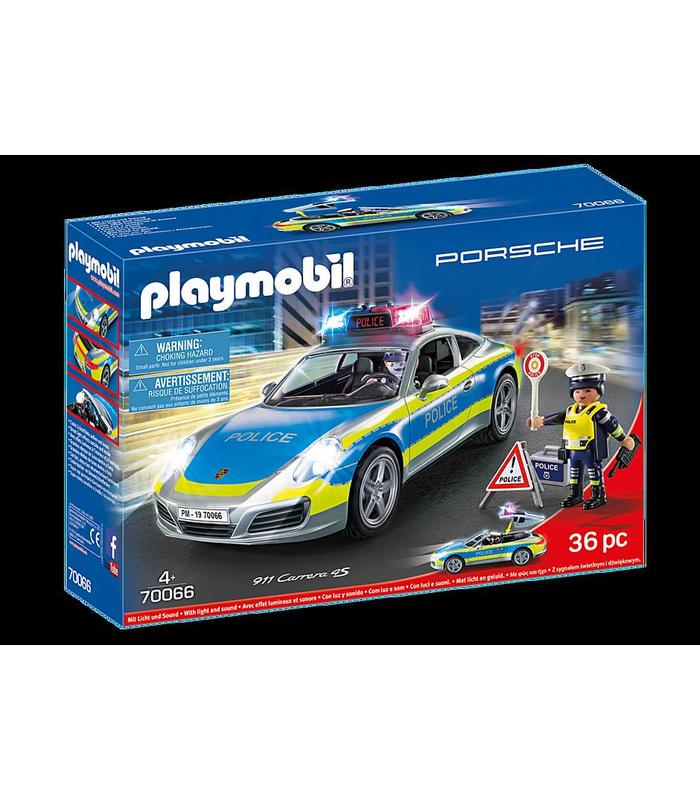 Playmobil 70066 Porsche 911 Stroke 4S Police Toy Store