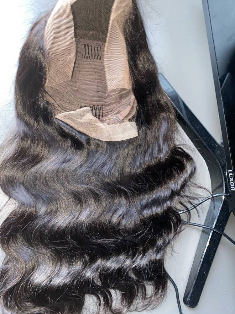 UEENLY 13x4 Lace Front Human Hair Wigs Brazilian Body Wave Human Hair Wigs Lace Frontal Wig Pre Plucked 4x4 Lace Closure Wigs photo review