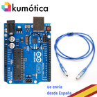 UNO arduino development board with ATMEGA16U2 chip + Cable 1.5 meters, the perfect chip for Mac or Chromebook