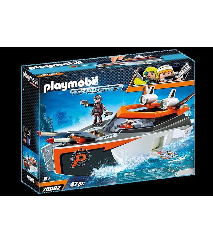 Playmobil 70002 Spy Team Turbonave Toy Store