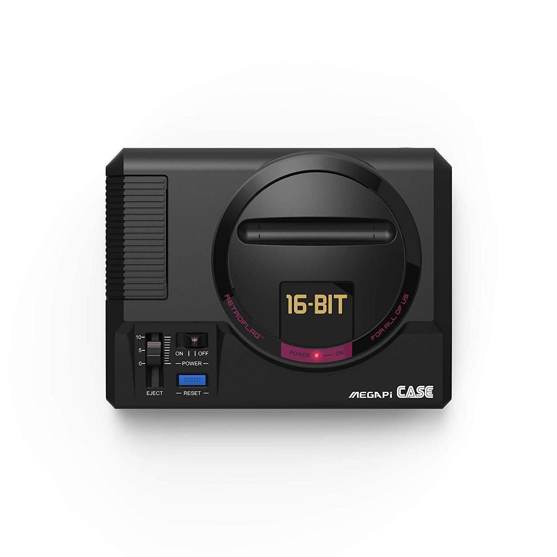 Retroflag MegaPi Case for Raspberry Pi 2/3/B + 16 Original bit Mega Drive Style new original kyocera 302nm94240 drive assy b for m3040 m3540 m3550 m3560