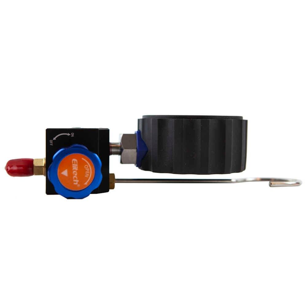 Man/ómetro digital Aire acondicionado Refrigerante Herramienta de alta presi/ón WK-688H