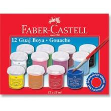 12 Colors Professional Gouache Watercolor Paints Set 15 ml Gouache Non-Toxic Painting for Artists Students Art Supplies Beginner