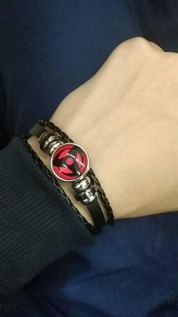 Naruto Sharingan Leather Bracelet (6 types) photo review