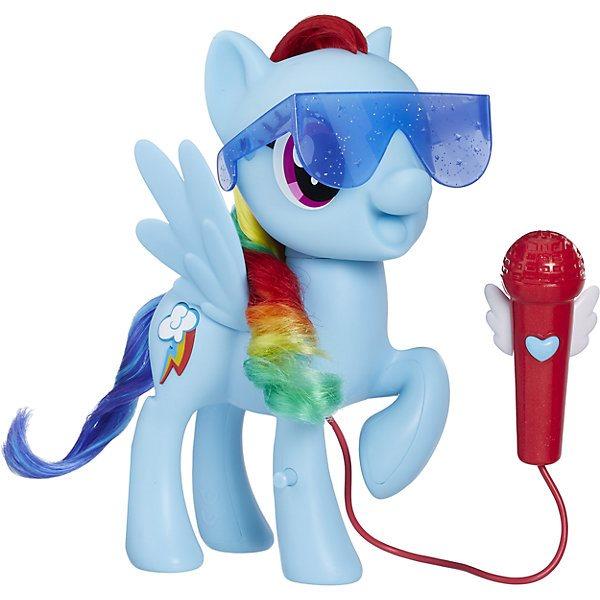Figura de mi pequeño Pony cantando pony Rainbow Dash