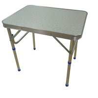 Table folding without Chair Lutu color light or dark length 45 cm width 60 cm height 70 cm