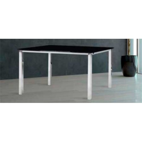 Dining table bianca extendable white or black|End Tables| |  - title=