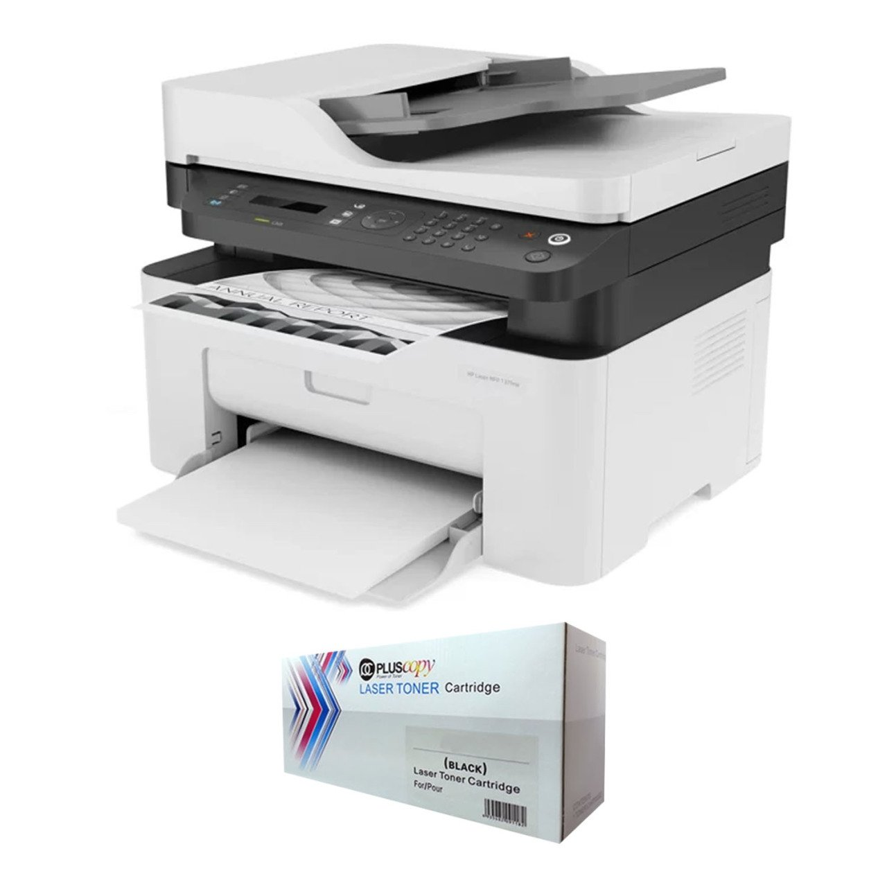 FOR HP MFP 137FNW 4 ZB84A Laser Printer Unlimited Chipli And Full Filled Pluscopy Tonerli