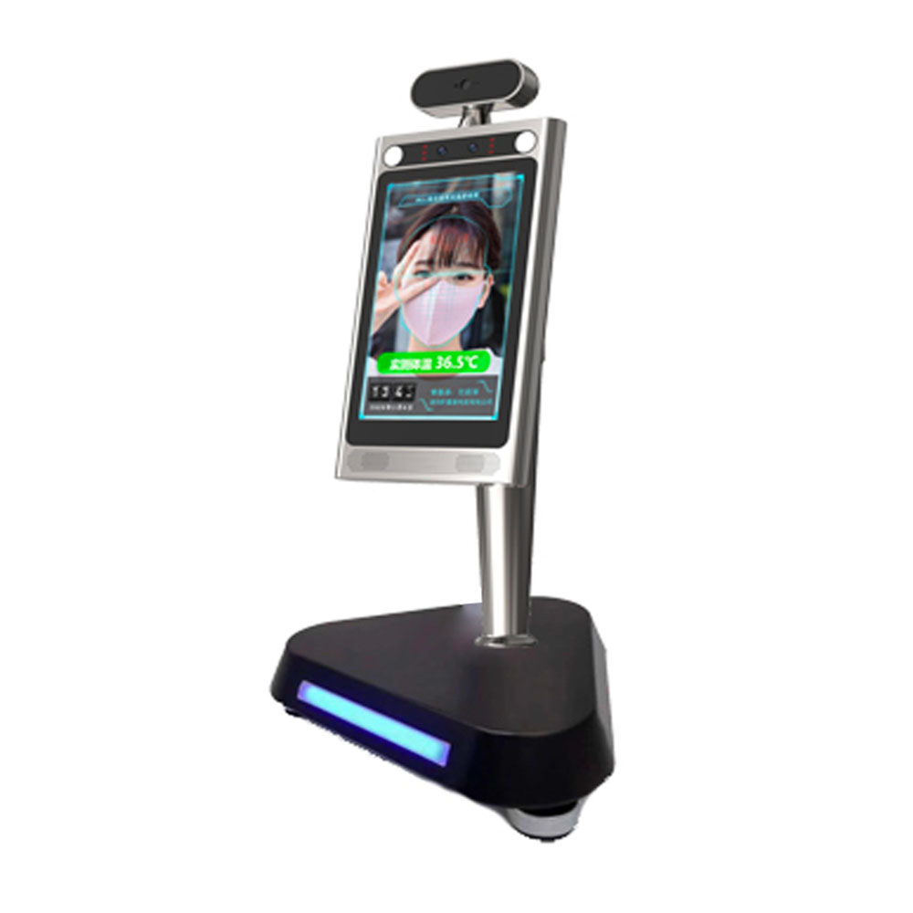 8 Inch Android Smart Display With Fever Alarm, Access Control, Heimann Sensor,  Facial Recognition,multi-language Software Incl