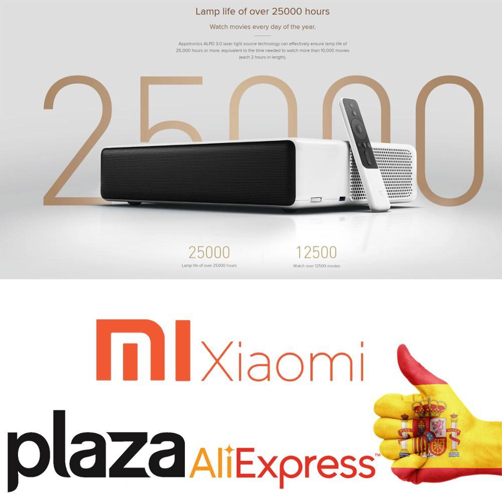 Version mondiale Xiaomi MiJia projecteur laser Ultra courte portée 150 pouces 5000 ANSI 1080P 4K 3D up home Android TV cinéma WiFi