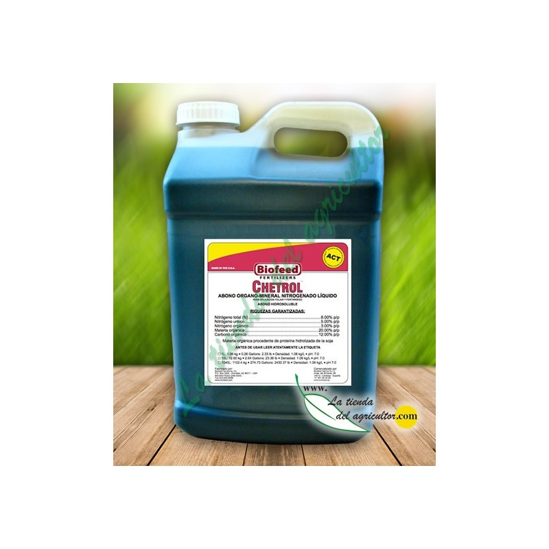 FERTILIZER FOR EVERYTHING TYPE CROPS, SPORTS FIELDS And GARDENS. ENHANCES NUTRIENT ABSORPTION CHETROL (10 Litre)-- image
