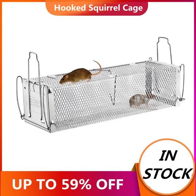 חכם דלת אנושי חי עכבר מלכודת בעלי החיים עכבר כלוב עכברוש עכבר עכברים בית מלכודות קטן מכרסמים בעלי חיים עבור מקורה חיצוני