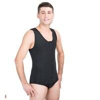 Liposuction Zippered Men's Briefs Corset