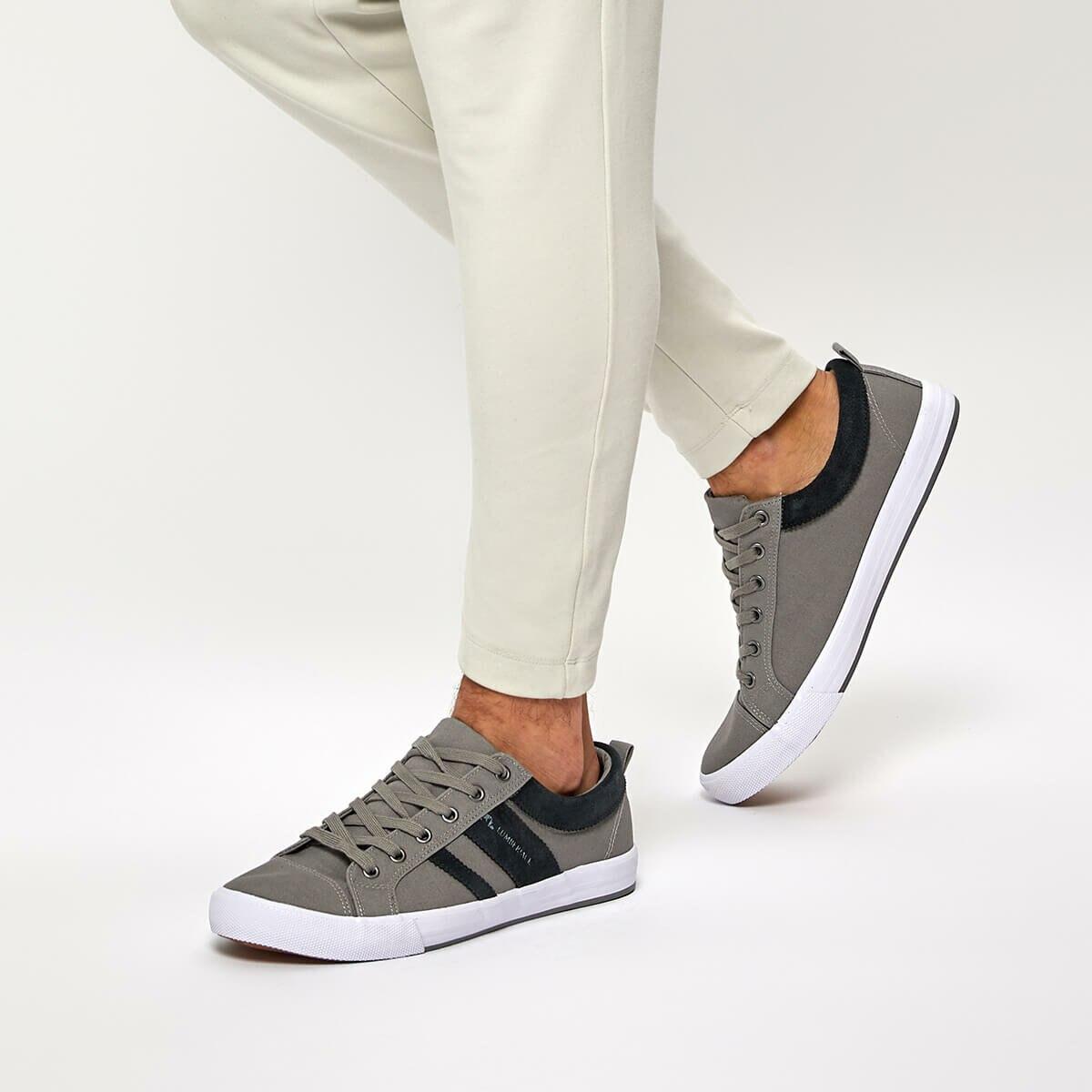 FLO GREG Gray Men 'S Sneaker Shoes LUMBERJACK