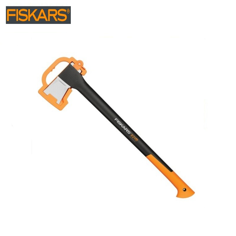 Pitch - hand Fiskars X21 L (1015642) heavy harvesting  Woodworking tools tomahawk dividing ax survival