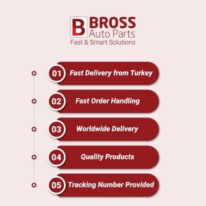 Image 4 - Bross Auto Parts BSR534Sunroof Rubber Seal Gasket Set for Mercedes 108 W, 109 W, 114 W, 115 W, 116 W, 123 W, 126 W, 140 W