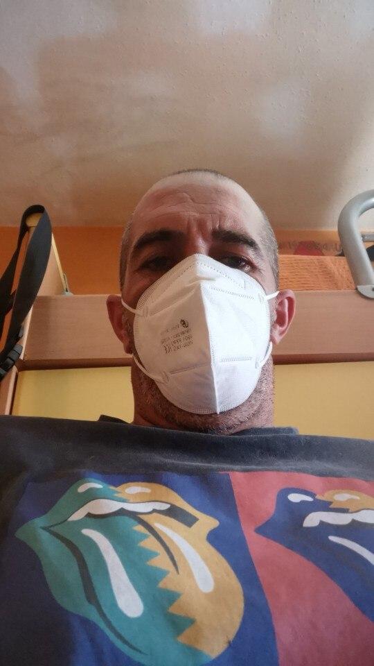 10-100pcs masks white face mask flu facial masks fpp2 filter masks protection masks ffp2 mask kn95 mask PM2.5 anti dust mask