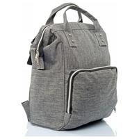 Prens Bebe Functional Mother Baby Care Backpack Gray /Mother & Kids / Activity & Gear / Diaper Bags