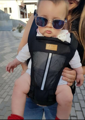 Hot Newborn Infant Baby Carrier Solid Breathable Ergonomic Adjustable Wrap Sling chest kangaroo Backpack 0 4 Years|Backpacks & Carriers|   - AliExpress