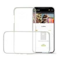 Capa móvel iphone x ksix flex 360 (2 peças)