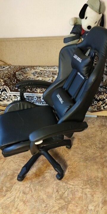 LIKE REGAL WCG игровой Эргономичный компьютерный стул  дома Кафе  кресло  бесплатная доставка мебель-in Office Chairs from Furniture on AliExpress