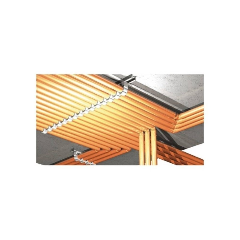 CELO 932ABT 932ABT-Abrazadera de Nylon multidi/ámetro para clavadora a Gas Abranyl ABT 26-32 mm Gris Envase 50 ud