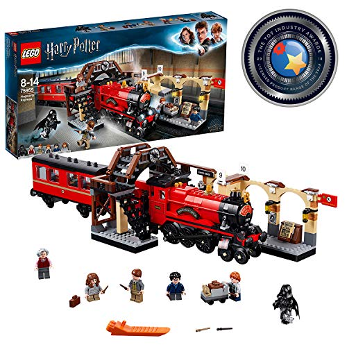 LEGO <font><b>Harry</b></font> <font><b>Potter</b></font> - Hogwarts Express, toy train and platform 9 & 3/4 (<font><b>75955</b></font>) image