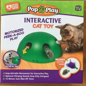 Image 2 - POP N PLAY Cat Toy Funny Cat Toy Cat Scratching Device Cat Scratching Post Toy Material for Cat Sharpen Claw pop play cat toy
