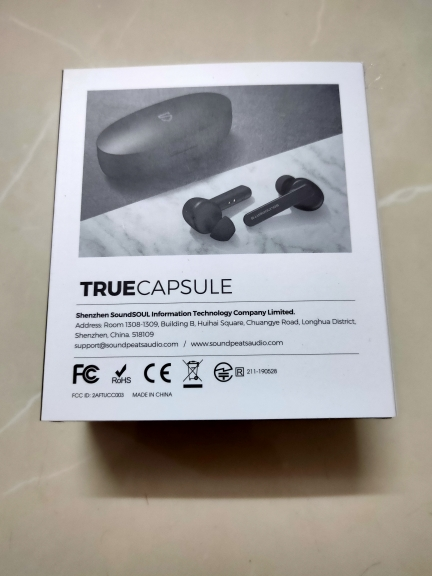 SoundPEATS Truecapsule Bluetooh 5.0 True Wireless Earbuds in Ear TWS Headsets High Definition Mic Auto Pair Wireless Earphones-in Bluetooth Earphones & Headphones from Consumer Electronics on AliExpress