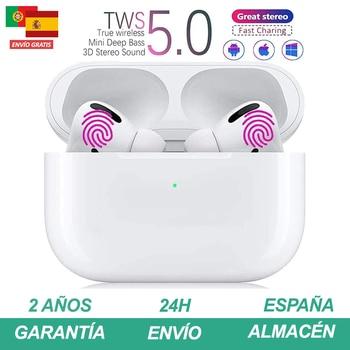 Auriculares bluetooth inalambrico Pro 2020 con micrófono y caja de carga Cascos...