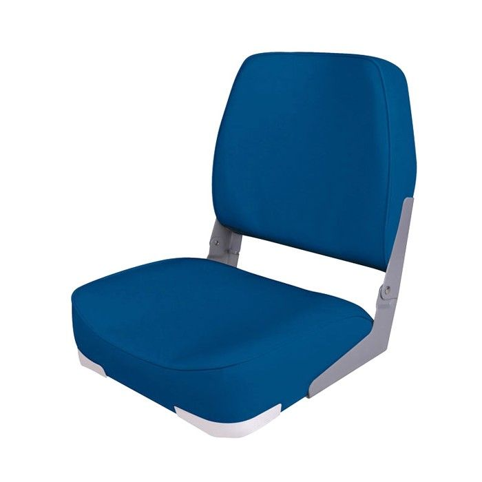 Chair Folding Soft Economy Low Back Seat, Blue 75103B