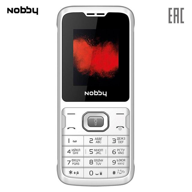 Мобильный телефон Nobby 110 , 2 симкарты, ThreadX, камера, фотокамера, цветной дисплей