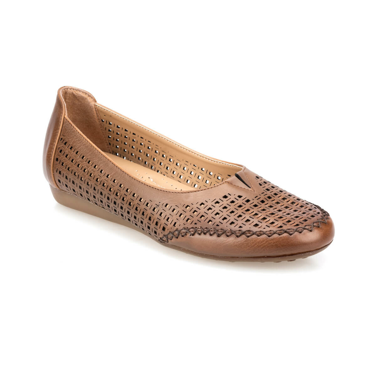 FLO 91.150656.Z Tan Women 'S Shoes Polaris