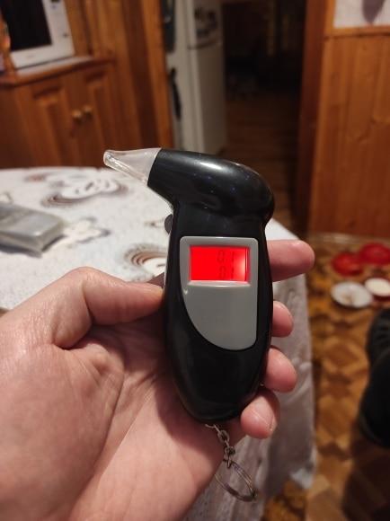 Handheld Digital Alcohol Tester photo review