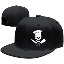 Chef Grill Sergeant Cooking Pirate Baseball Caps Snapbacks Plain Cap